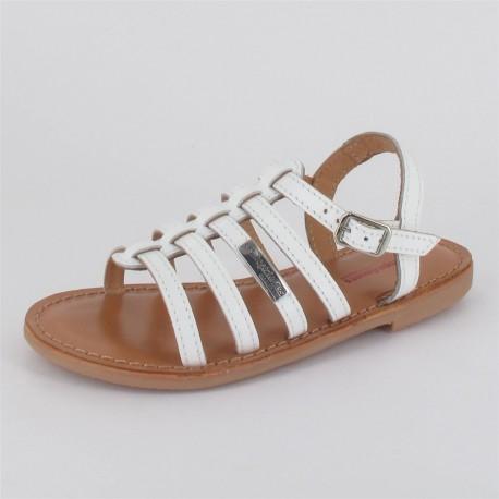 Sandales unies Mongue fille