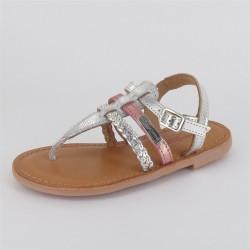 Sandales entredoigt colorées Barmi fille